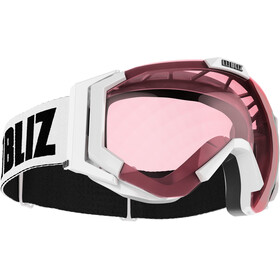Bliz Carver Small Goggles, white-black/pink